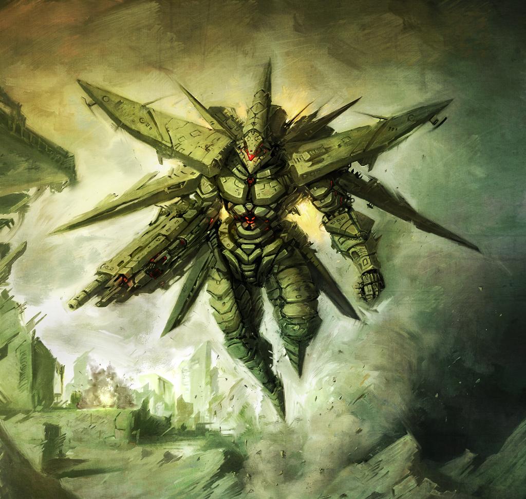 Armures cybernetiques - Dessin armure ...