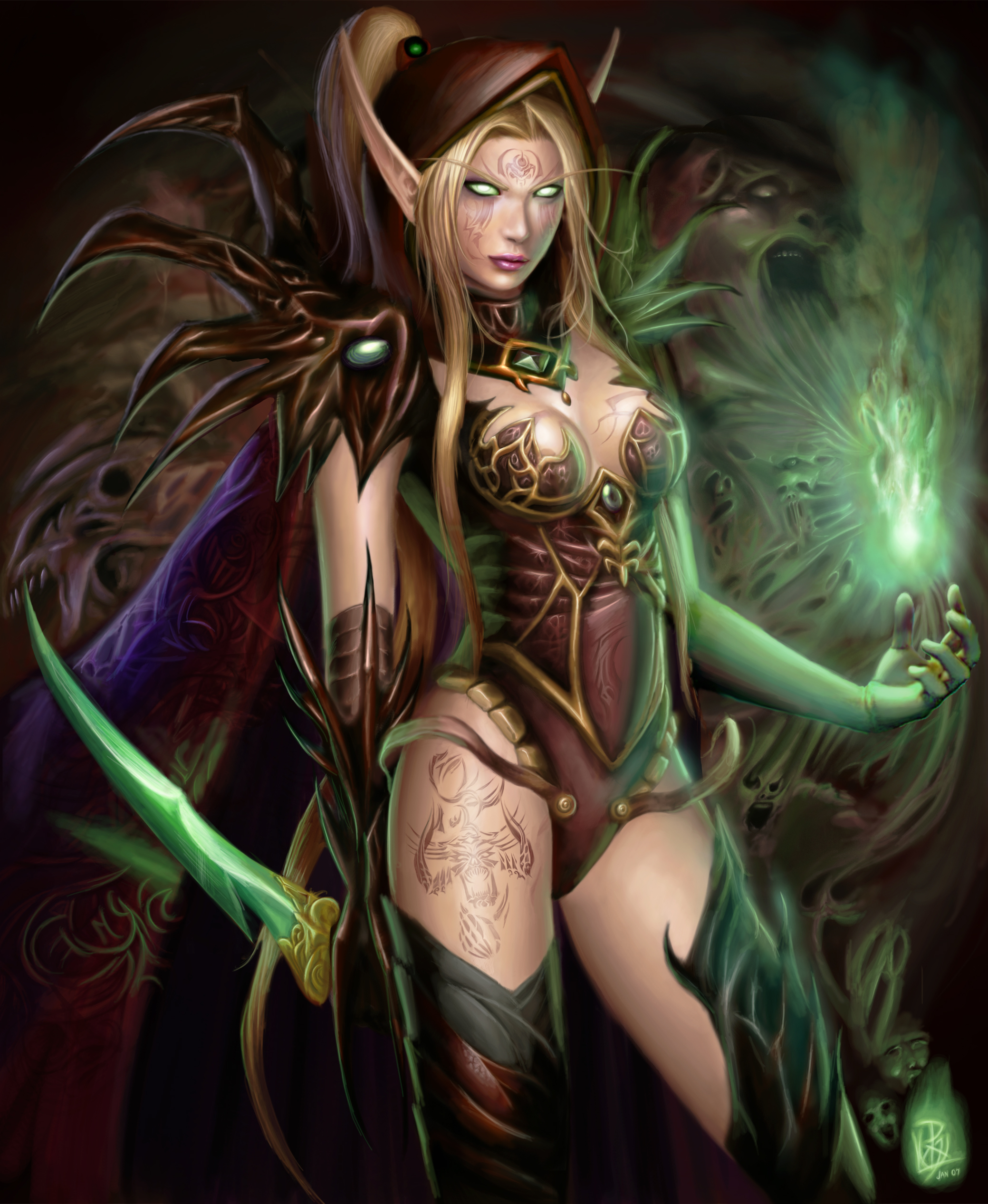 Sexy babes of elves anime galleries