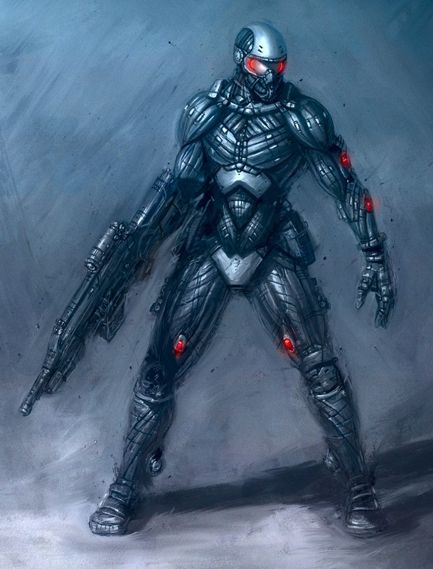 Armure Futuriste armures cybernetiques
